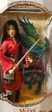 Disney Mulan Limited Edition Live Action Doll 17'' with D23 Mulan Magazine