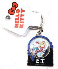 New Universal Studios Park Hello Kitty E.T. Flying Bike W/ Glitter Keychain