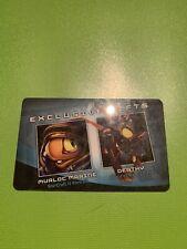 Blizzard BlizzCon 2010 loot card WoW Deathy pet & SC2 Murloc marine portrait NEW