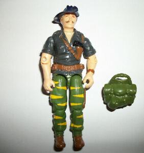 GI Joe Vtg Hasbro Figure ORIGINAL 1980s TIGER FORCE RECONDO