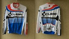 Fox Cycling Shirt XL Jersey CUBE Camiseta Shimano Schwalbe