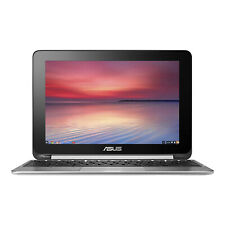 "ASUS 10.1"" Touch Chromebook Flip Laptop 1.8GHz 4GB 16GB eMMC - C100PA-DB02"