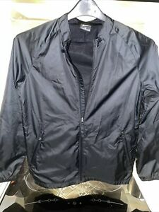 Nike Boys Black Zip Up Jacket Age 12-13 Size Large Excellent Condition