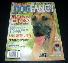 Dog Fancy Magazine July 2005 ~Great Dane~Take Fear Out Of Fireworks~Campingtips~