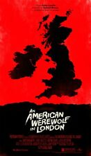 MONDO An American Werewolf In London Signed by Olly Moss Limited Edition!