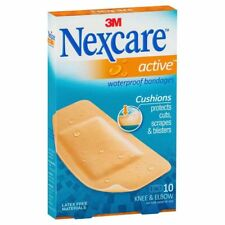 Nexcare Active Waterproof Bandages Large 10