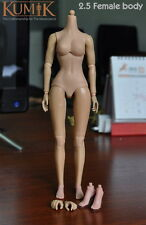 "12"" Kumik Female Body 2.5 Figure Doll For 1/6th Scale Head Sculpt Model"