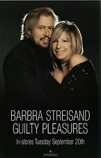 Barbra Streisand poster - Guilty Pleasures - promo poster - 11 x 17 inches