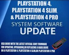 PS4 UPDATE INSTALL USB FLASH DRIVE PLUG IN LATEST OFFICIAL SONY FIRMWARE FW OFW