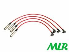 RED 8MM SILICONE IGNITION HT LEADS WIRES VW POLO LUPO 1.0 1.4 8V MLR.BO