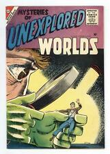 Mysteries of Unexplored Worlds #3 VG 4.0 1957