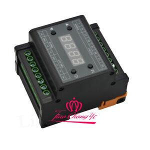 DMX302 DMX triac dimmer led brightness controller AC90-240V TRIAC 3-Output