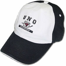 Nebraska Omaha Mavericks Hockey Zephyr White/Black Chopper Adjustable Cap