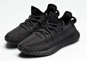Adidas Yeezy Boost 350 V2 Triple Black Shoes FU9006 Size 5.5 (Women 7) NEW