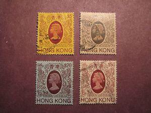 Hong Kong Scott# 400-03 Queen Elizabeth II 1982 C35