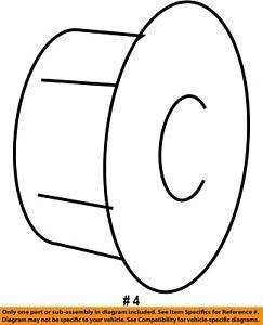 CHRYSLER OEM Cooling Fan-Fan Blade Nut 5137718AA