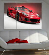 PORSCHE CARRERA GT Gigante Sezione Wall Art POSTER 260gsm