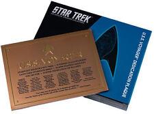 Star Trek Eaglemoss U.S.S. Voyager Widmungsplakette Dedication Plaque neu OVP