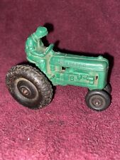 Vintage Auburn Rubber Toys Green Hard Rubber Toy Tractor 1950's-60's -  Nice!