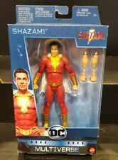 "DC Multiverse SHAZAM Zachary Levi Movie Version 6"" Action Figure Mattel"