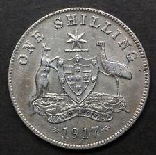 Australia  Shilling 1917  gVF  S191703