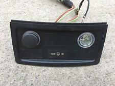 BMW 5 SERIES E60 E61 REAR AUX IN TRIM 9117364 TWO LIGHTER 7034100 WITH WIRRING