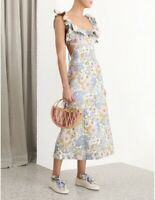 Super Eight Frilled Dress RRP$750