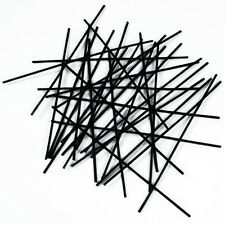 100 Creation Station Long Black Pipe Cleaners  300 mm long x 4 mm CT4067