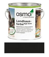 Osmo Landhausfarbe Schwarzgrau 0,75 l TOP NEUWARE