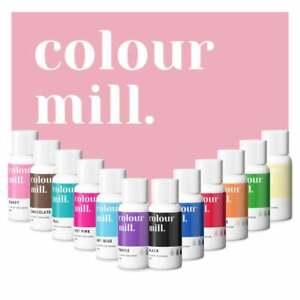 20ml colour mill Olio Base Colorante Alimentare