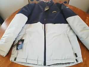 Nike Shield On Field Los Angeles Chargers Jacket Blue AO34 419 Size Large