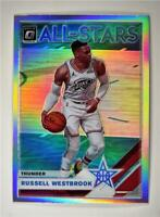 2019-20 Donruss Optic All-Stars Holo #8 Russell Westbrook Thunder