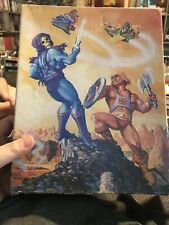 He-Man Masters of the Universe Jigsaw Puzzle  1983 MOTU