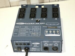 SHOWTEC MULTIDIM IEC MKII STAGE, SHOW, DISCO, GIG LIGHTING EFFECTS CONTROLLER