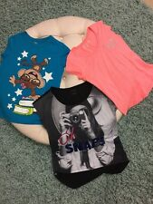 The Children Place Hanes and Bongo Girl 3 Graphic Tees Multicolor Size M A-2