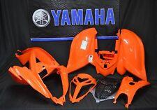 Raptor 700 plastics GENUINE YAMAHA fenders COMPLETE set 2006-2019 ORANGE YFM SE