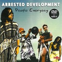 "ARRESTED DEVELOPMENT ""PEOPLE EVERYDAY"" CD+DVD NEU"