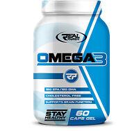 Real Pharm OMEGA 3 - 1000mg - 60/120/180 Softgels - Fish Oil Caps EPA DHA