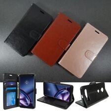 For LG Neon Plus (AT&T) Wallet Case PU Leather Flip Folio Kickstand Wristlet