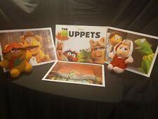 Vintage Disney Lithographs Jim Henson Muppets Bundle Lot #002