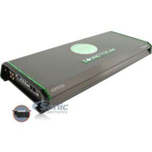 SOUNDSTREAM T1-6000DL MONO CAR CLASS D AUDIO 1-CHANNEL AMP AMPLIFIER 3000W RMS