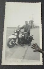 New York State Trooper on Motorcycle Photograph, Identified Late 1930s