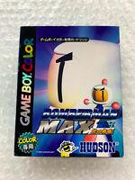 "Bomberman Max Hikari No Yusha ""Good Condition"" Nintendo Game Boy Color GB Japan"