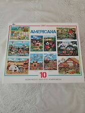 Ceaco 10-in-1 Multi Pack Americana Puzzles ALL COMPLETE