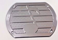 Chrome Note Speaker Cover Grill Rear Deck Custom Lowrider Hot Rod