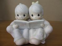 "Precious Moments #106763 ""Precious Memories"" 1987  ENESCO With Box"