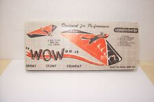 """Consolidated, """"Wowee""""  Control Line Model Airplane Kit"""