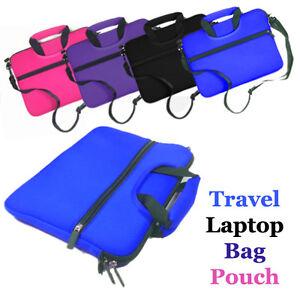"""Travel Laptop Neoprene Sleeve Case Bag Pouch for 11.6"""" 12"""" 12.5"""" 13.3"""" Laptop"""