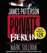 Private: Private Berlin by James Patterson and Mark Sullivan (2013, CD, Unabrid…