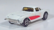 "Vintage 1979 Kidco Chevrolet Corvette 1957 2.75"" Scale Model White"